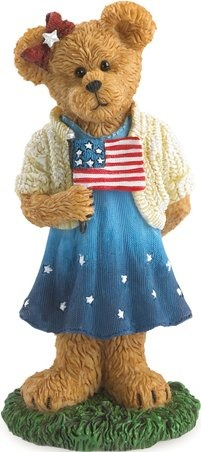 Boyds Bears Collection 4041887 Americana With Flag