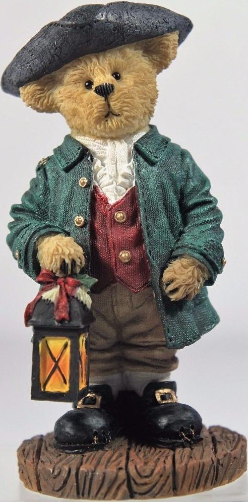Boyds Bears Collection 4041901 Daniel Traditions of Christmastide Williamsburg Bear