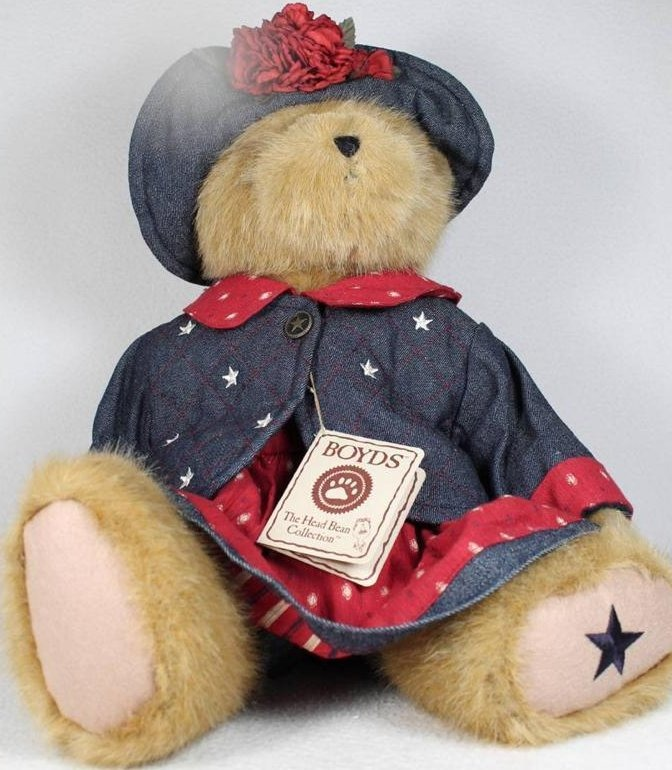 Boyds Bears Collection 904440 Pricilla T Spangler Plush