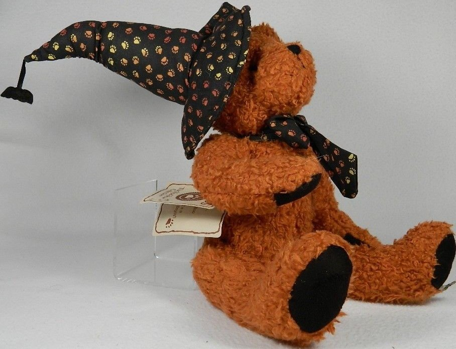 Boyds Bears Collection 904477 Witchy Boo Orange Best Dressed Series
