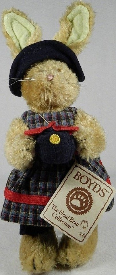 Boyds Bears Collection 9150-22 Emily Rabbit Rabbit Dressed Up