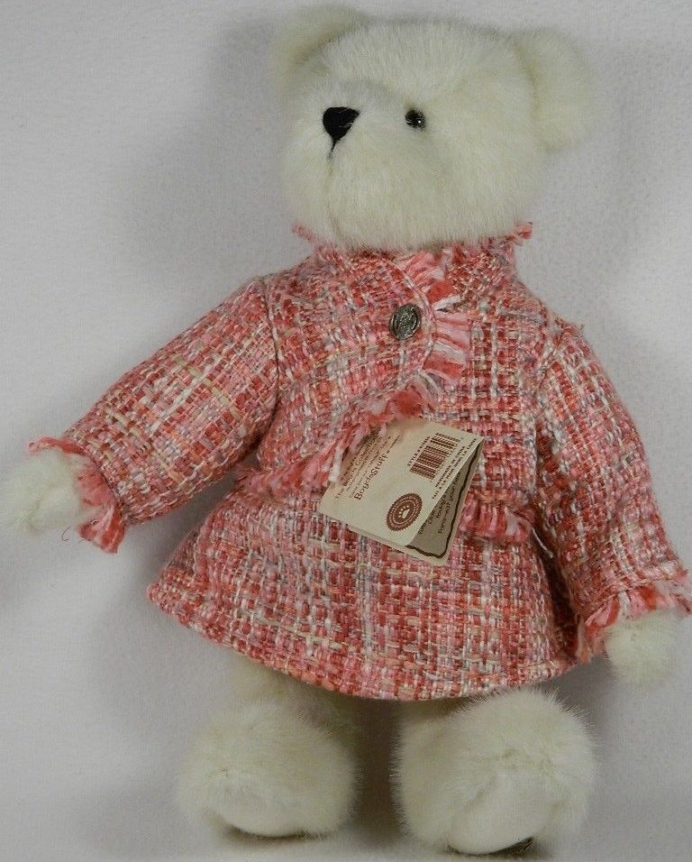 Boyds Bears Collection 919856 Paige T Bearringer Pink Suit