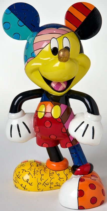 Britto Disney 4019372 Mickey Figurine