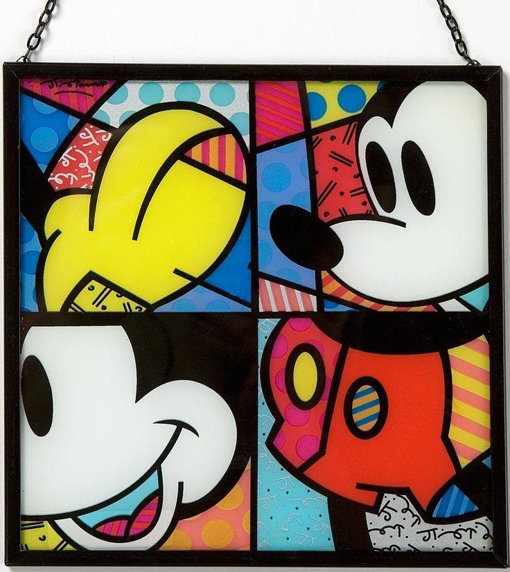 Disney by Britto 4019379 Mickey Glass Suncatcher
