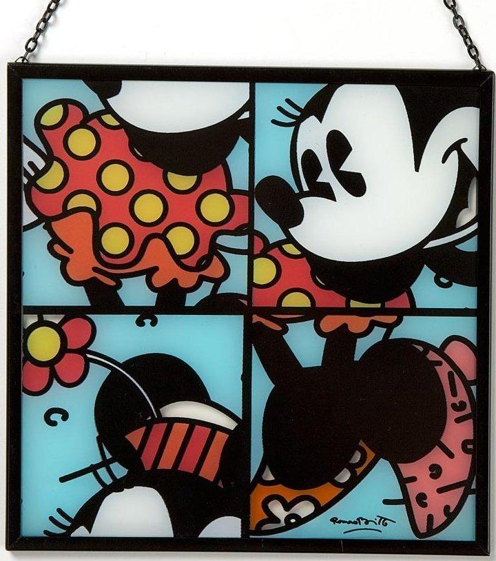 Disney by Britto 4019381 Minnie Glass Window Hanger Suncatcher