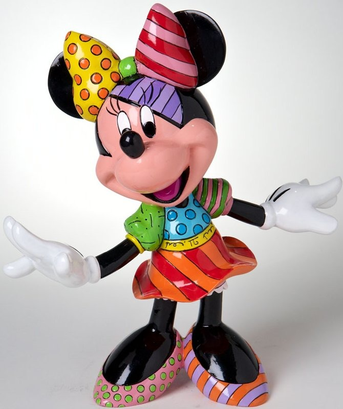 Britto Disney 4023846 Minnie Figurine
