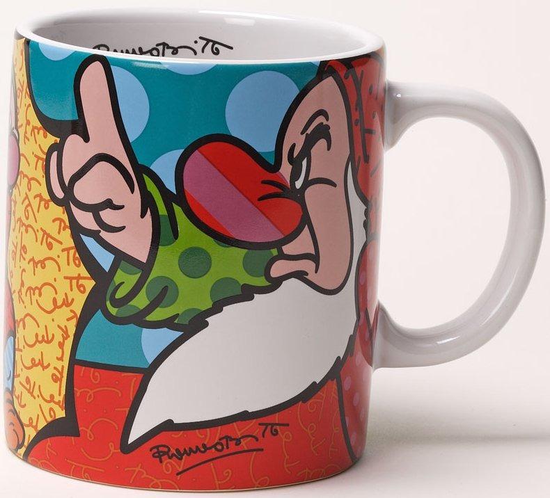 Britto Disney 4024497 Grumpy Mug