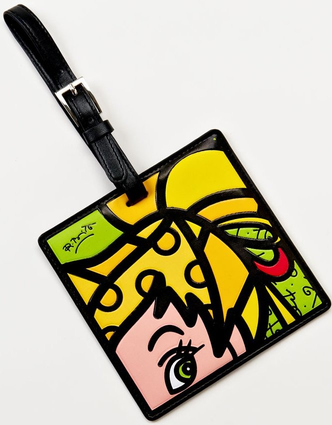 Disney by Britto 4024511 Tinkerbell Luggage Tag