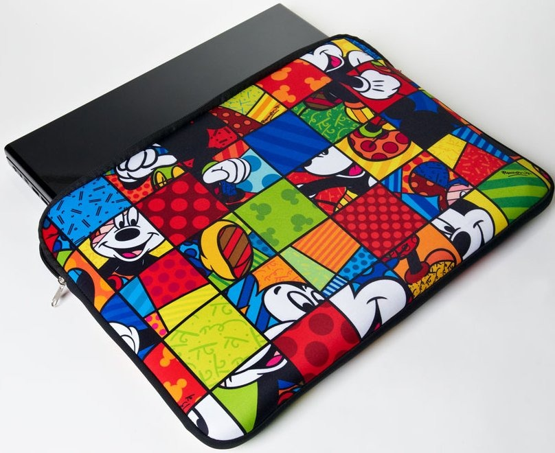Disney by Britto 4025006 Mickey 17in Laptop Cover Case