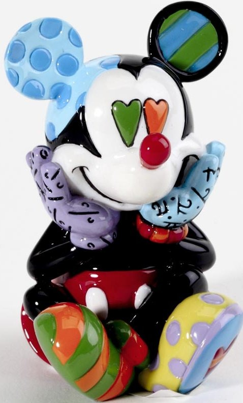 Disney by Britto 4026292 Mickey Mini Figurine