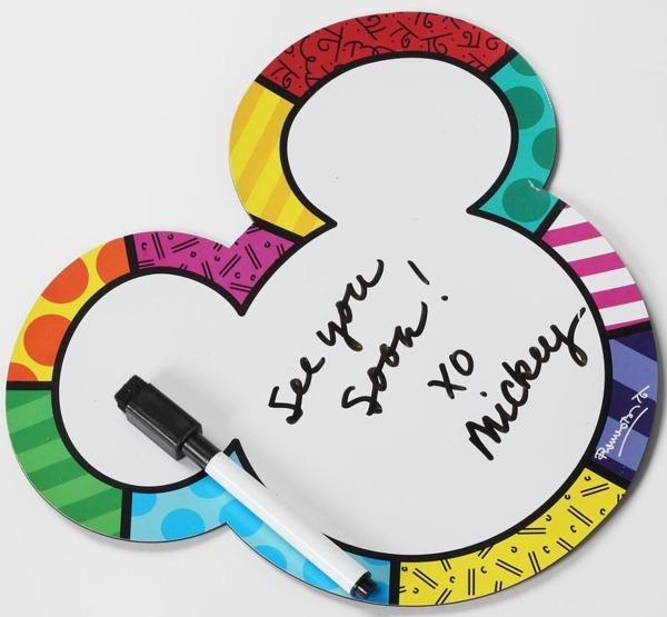 Disney by Britto 4027612 Small White Board