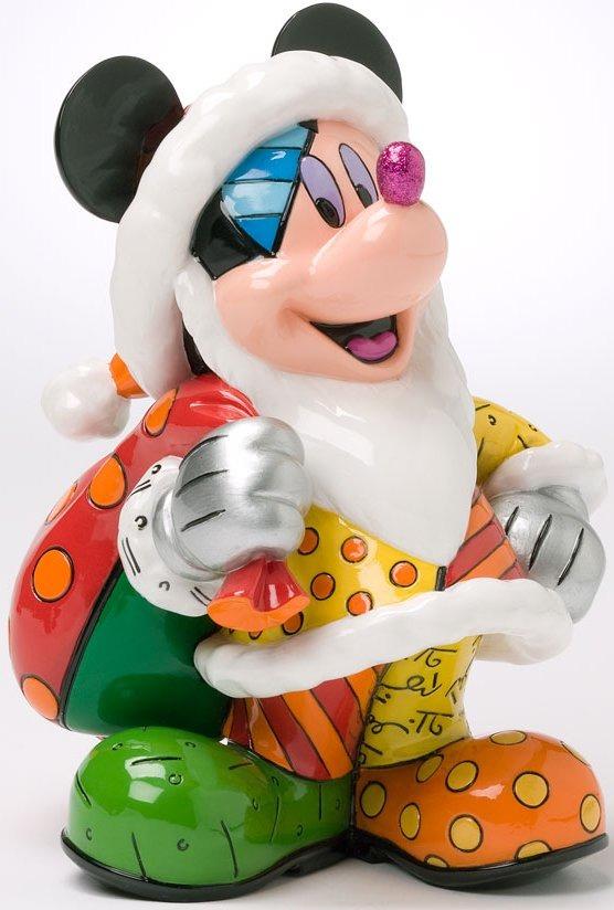 Disney by Britto 4027895 Chistmas Mickey Figurine
