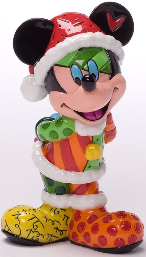 Disney by Britto 4027899 Christmas Mickey Mini Fi