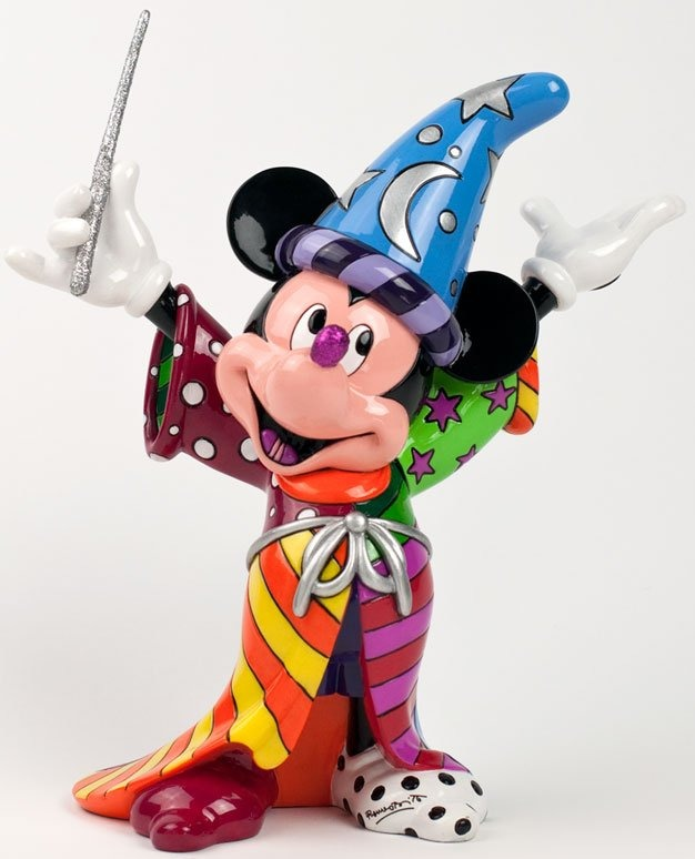 Britto Disney 4030815 Sorcerer Mickey Figurine