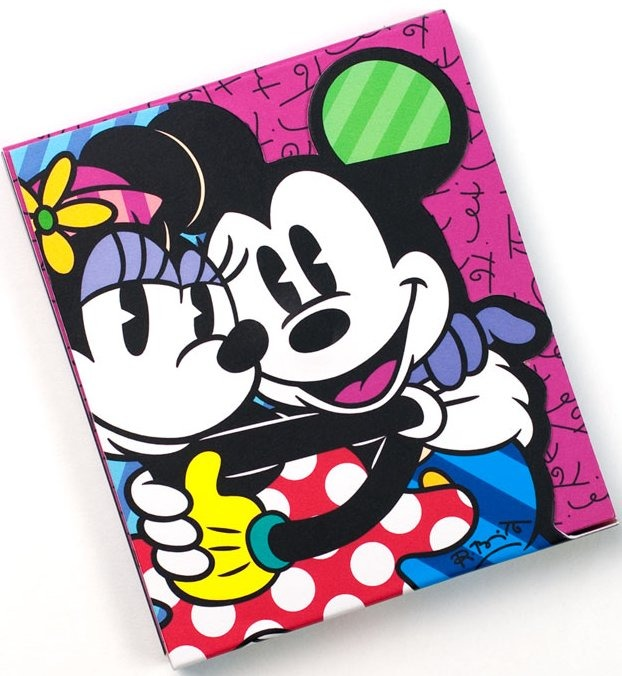 Disney by Britto 4030830 Mickey and Minnie Love N