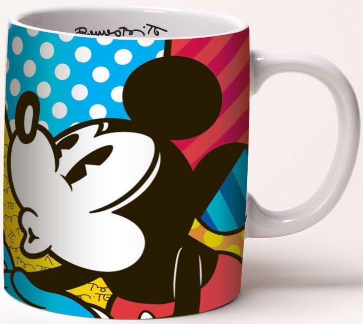 Disney by Britto 4030833 Mickey and Minnie Love Mug