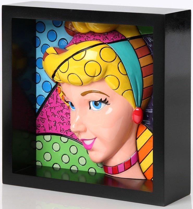 Disney by Britto 4033869 Cinderella Pop Art Block