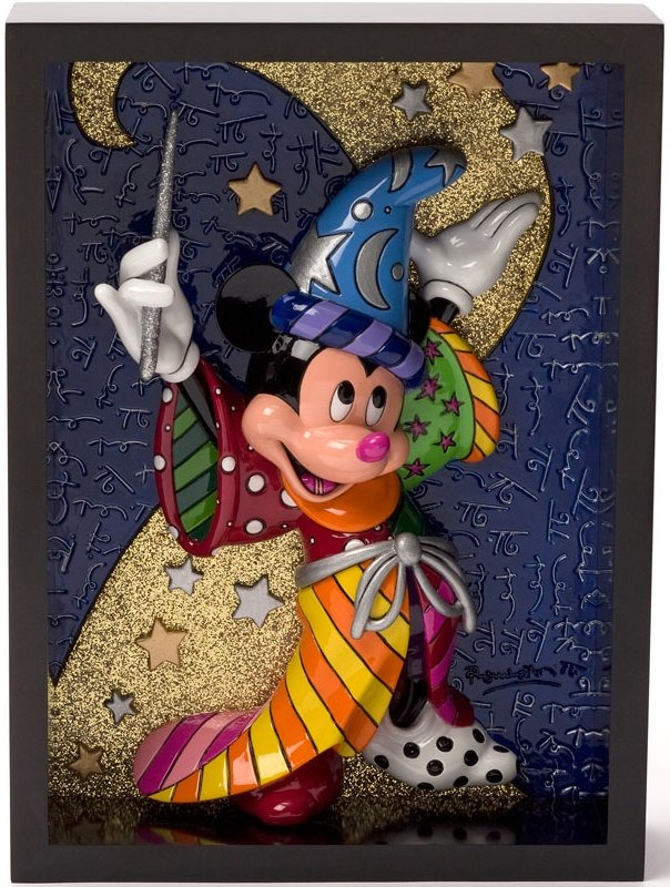 Britto Disney 4033870 Sorcerer Mickey Pop Art