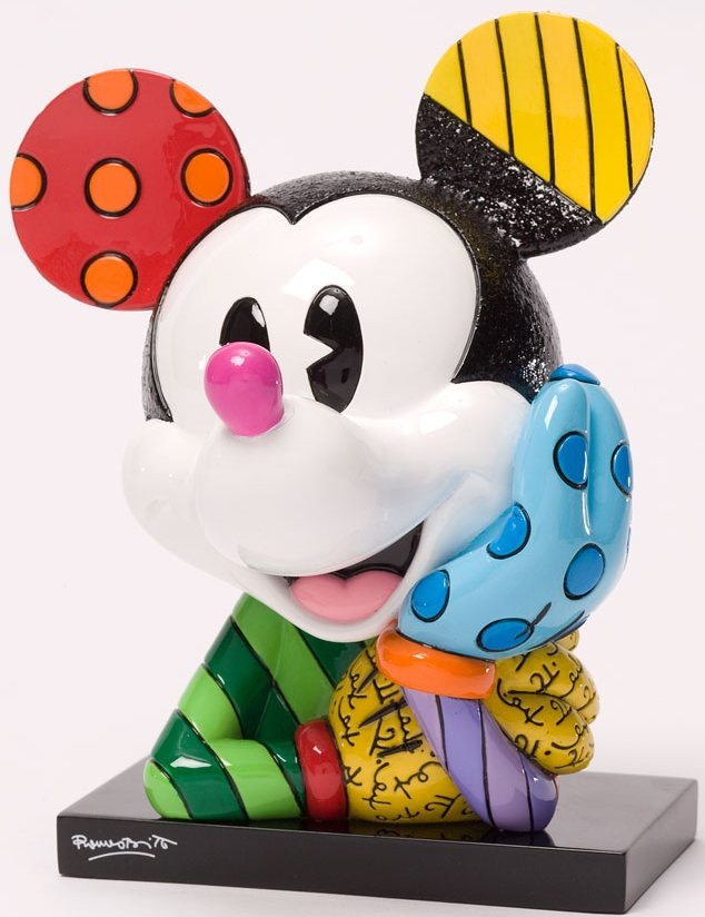 Disney by Britto 4033887 Mickey Bust