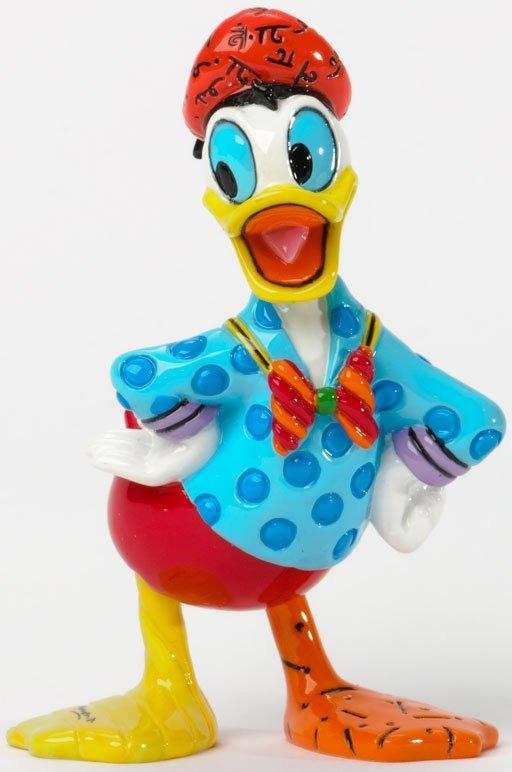 Disney by Britto 4033972 Donald Small Figurine