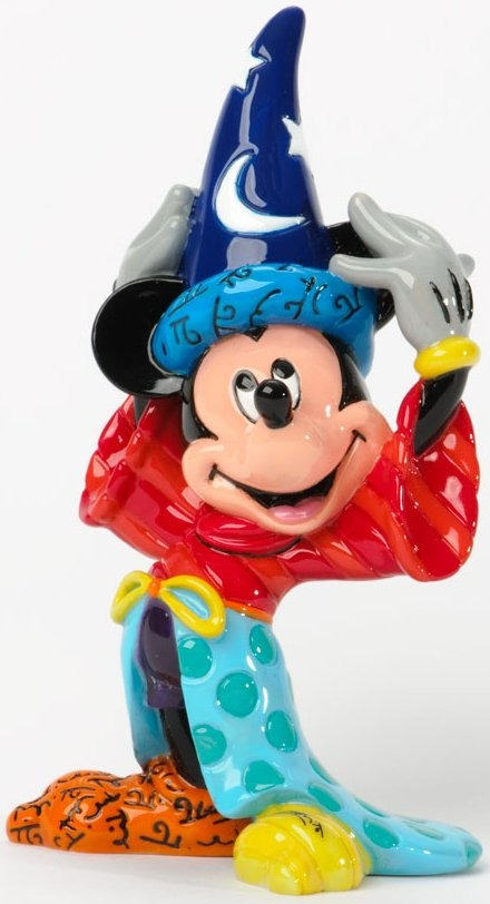 Disney by Britto 4033974 Sorcerer Mickey Small Fi
