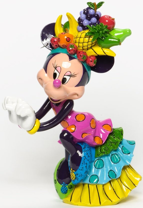 Disney by Britto 4037548 Samba Minnie Figurine