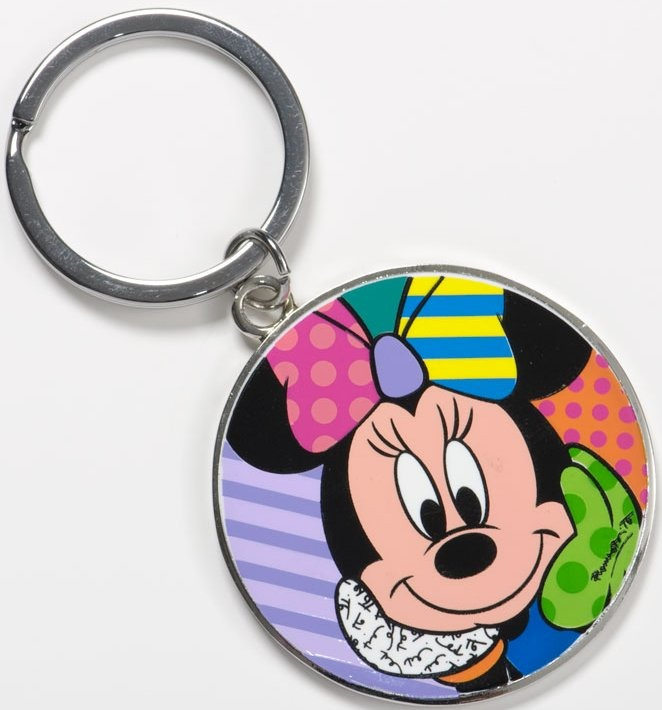 Britto Disney 4037559 Minnie Round Keychain