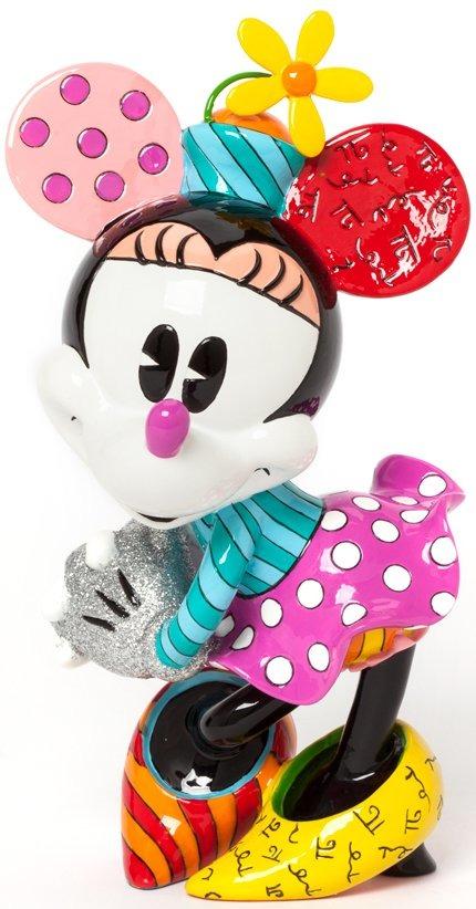 Disney by Britto 4038472 Retro Minnie Figurine