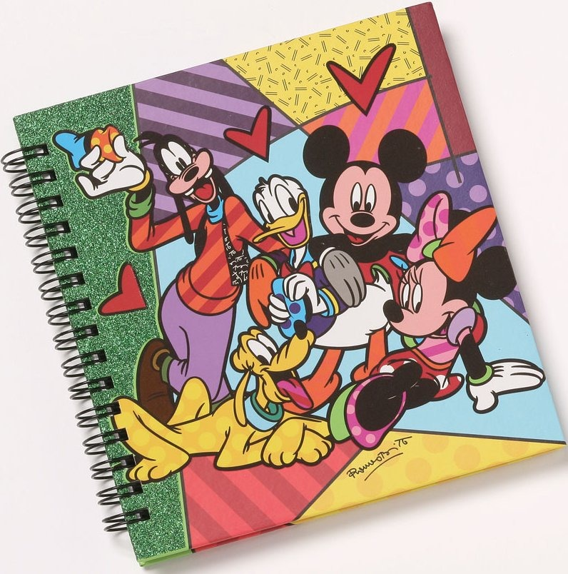 Disney by Britto 4038480 Fab 5 Journal
