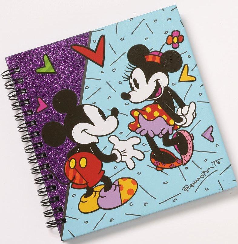 Disney by Britto 4038481 Vintage Mickey and Minnie Journal
