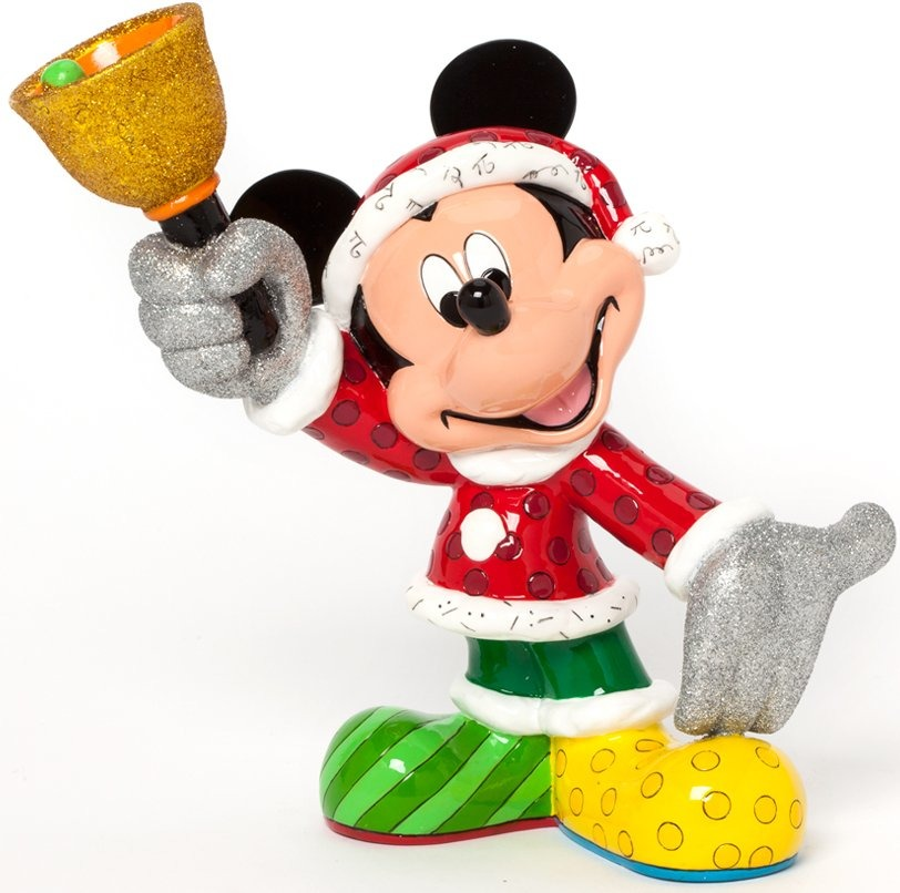 Disney by Britto 4039134 Santa Mickey Figurine