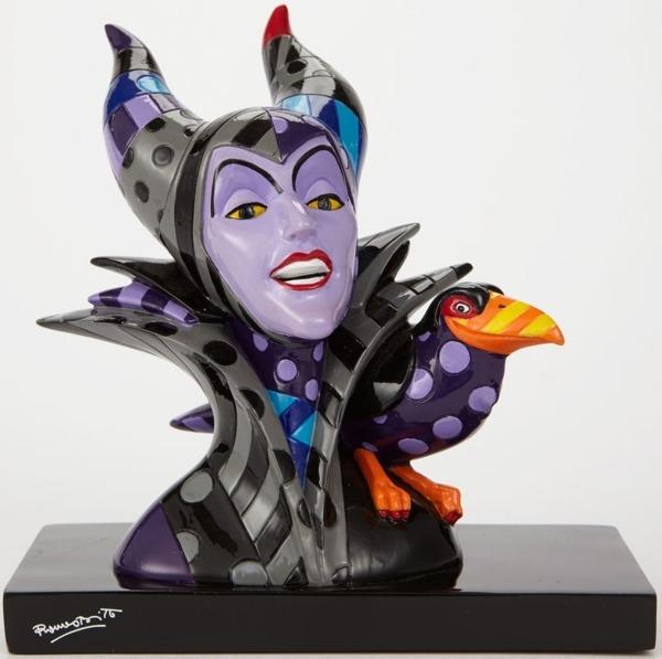Disney by Britto 4039141 Maleficent Bust