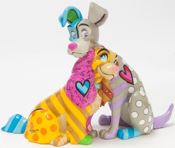 Britto Disney 4046355 Lady and the Tramp 60th