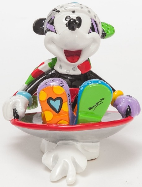 Britto Disney 4046358 Mickey in Disk sled