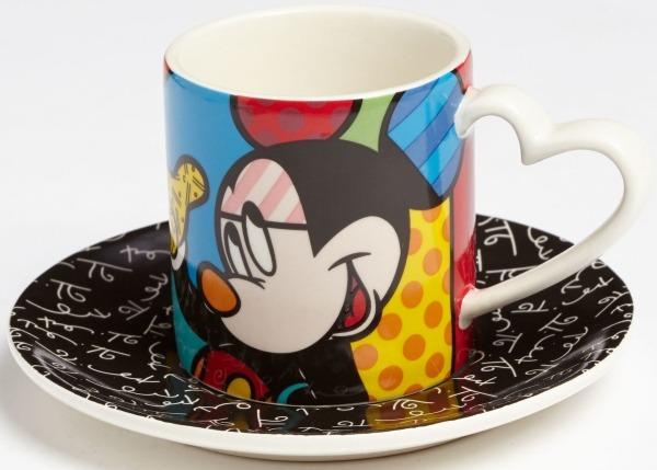 Britto Disney 4046375 Mickey Espresso cup sauc