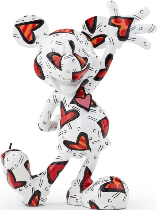 Disney by Britto 4049695 Mickey Wrapped in Hearts