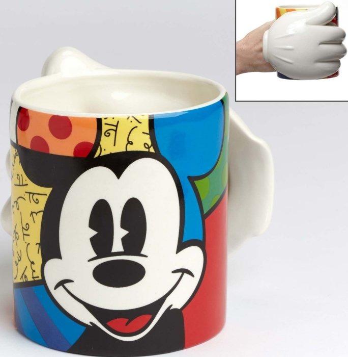Disney by Britto 4049699 Mickey Glove Mug