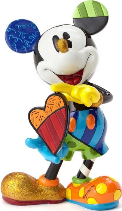Disney by Britto 4052551 Mickey w rotating heart