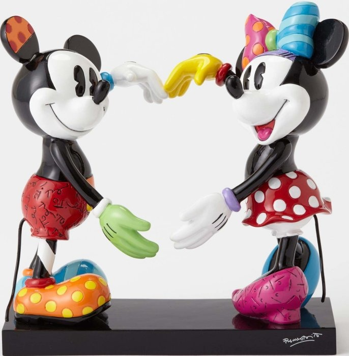 Disney by Britto 4055228 Mickey and Minnie   $75.99