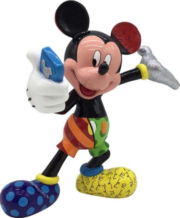 Britto Disney 4055690 Selfie Mickey