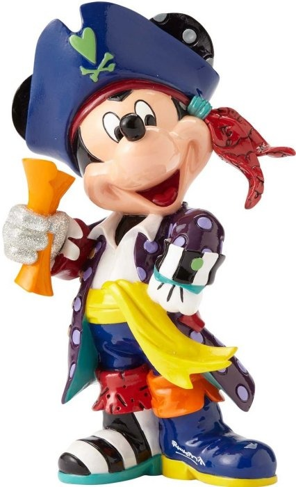 Disney by Britto 4057042 Mickey Mouse Pirate Figurine