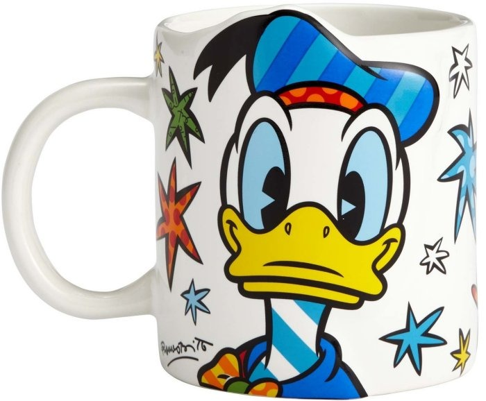 Disney by Britto 4057047 Angry Donald Mug