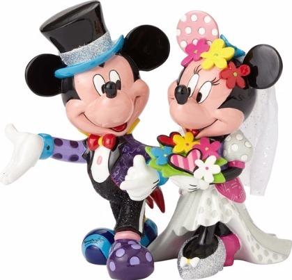Disney by Britto 4058179 Mickey & Minnie Wedding