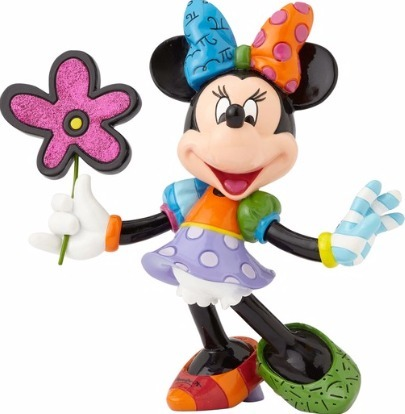 Disney by Britto 4058181 Minnie with Flowers