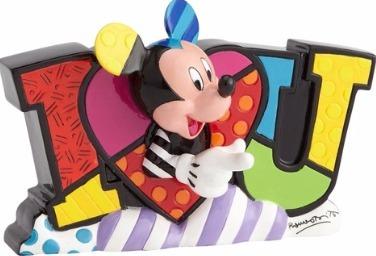 Britto Disney 4059578 Mickey LOVE