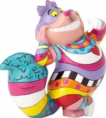 Disney by Britto 4059583 Cheshire Cat Mini Figurine