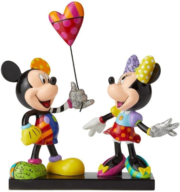 Disney by Britto 6001301 Mickey & Minnie NLE