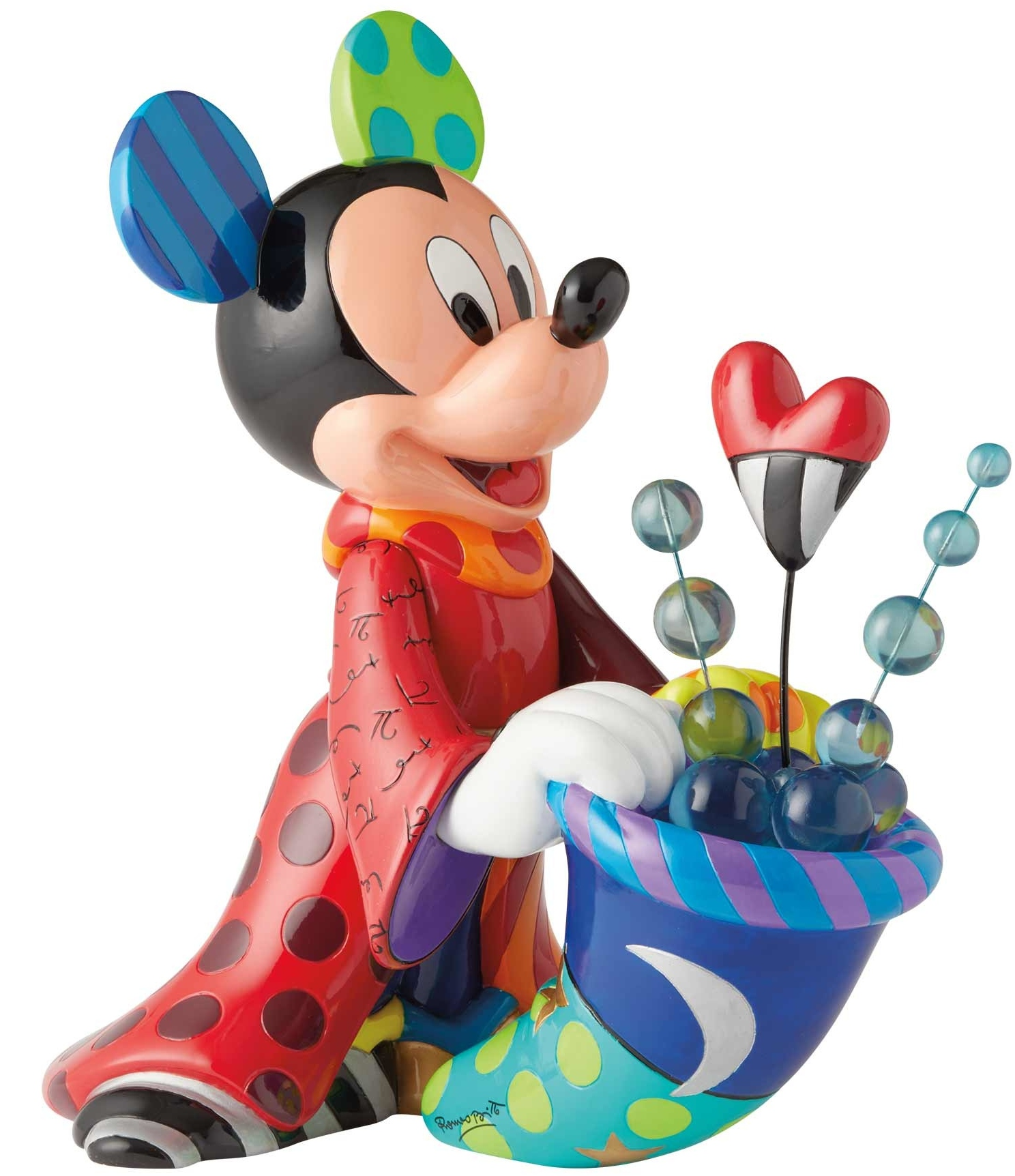 Disney by Britto 6003339 Sorcerer Mickey Big Figurine