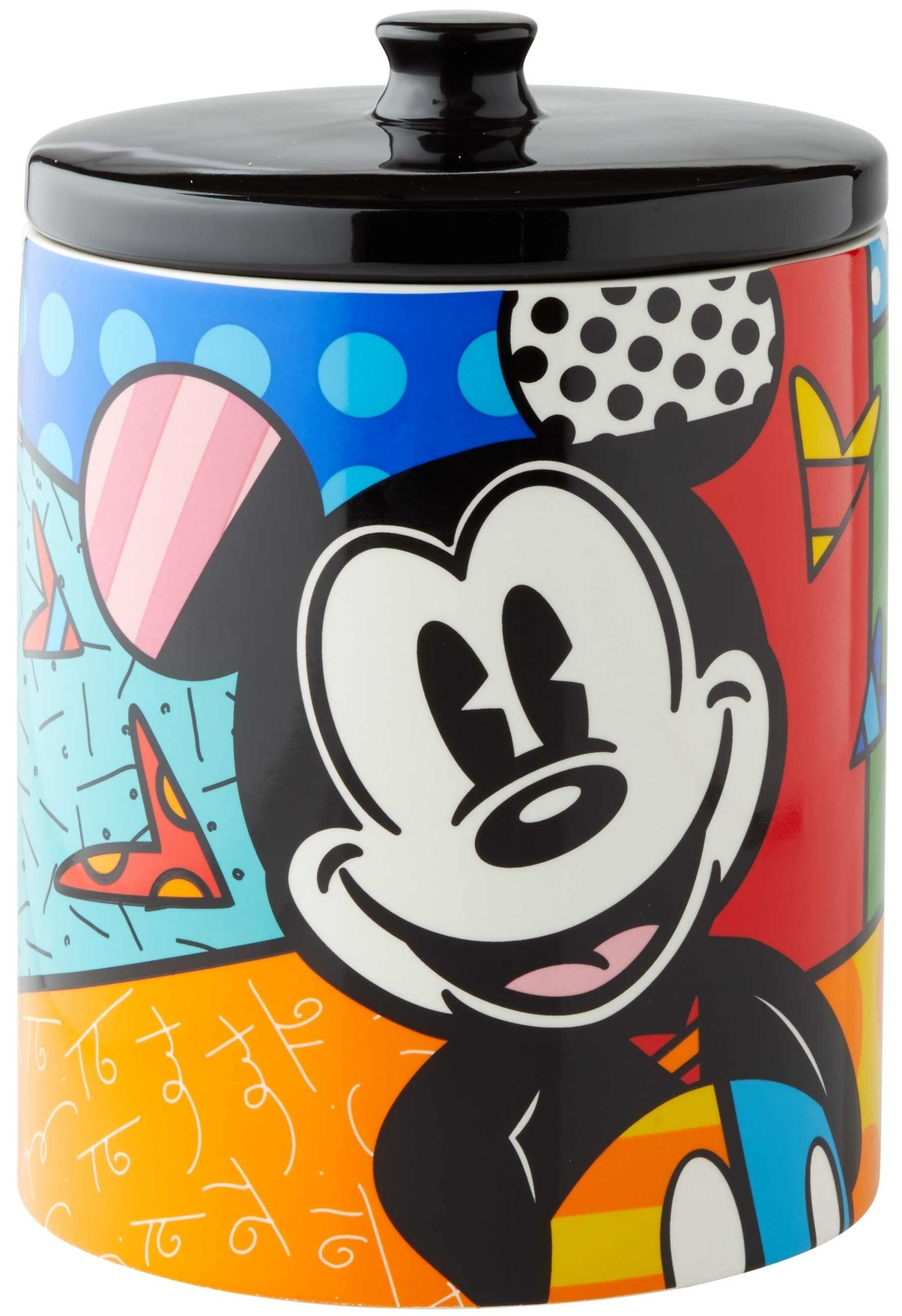 Britto Disney 6004975 Mickey Cookie Jar