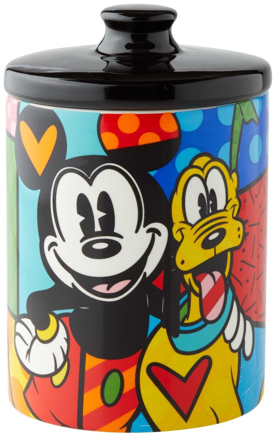 Britto Disney 6004977 Pluto Cookie Jar